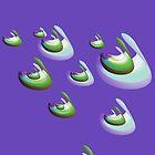 violet drops by DARSHA83