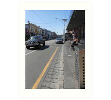 Collingwood Streetscape Art Print