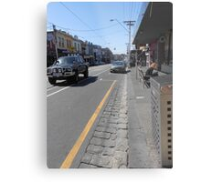 Collingwood Streetscape Metal Print