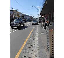 Collingwood Streetscape Photographic Print