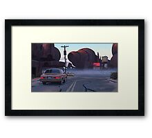 Mojave Metal II Framed Print