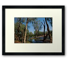 Roper Bar Crossing-Northern Territory Australia Framed Print