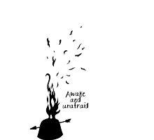Black parade 'awake and unafriad' by mollyseeary