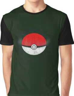 Pokemon Poison Type Pokeball with sleep powder leaking out Graphic T-Shirt