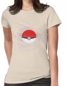Pokemon Poison Type Pokeball with sleep powder leaking out Womens Fitted T-Shirt