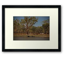Natures Spa - Outback Northern Territory Australia Framed Print