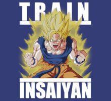 Train insaiyan - Goku wounded by Ali Gokalp