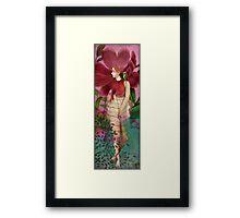 Red Gardens Framed Print