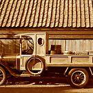 Old truck by Arie Koene