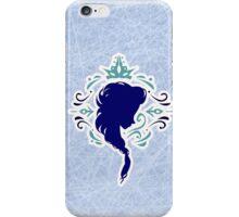 Elsa Frozen silhouette iPhone Case/Skin