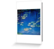 Still Waters with Lilypads Greeting Card