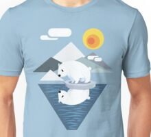 Polar Bear Dilemma Unisex T-Shirt