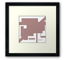 rectangle art Framed Print