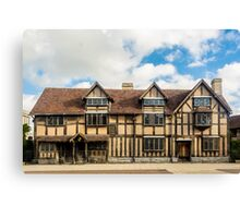 Stratford upon Avon Canvas Print