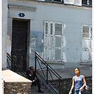 Montmartre, Paris by Claire McCall