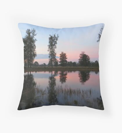 Lake Mirror Throw Pillow