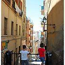 Admiring the View, Cagliari, Sardinia by Claire McCall