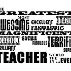 Best Teachers : Greatest Teacher by Toby Davis