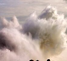 giant breaking wave. cascais by terezadelpilar~ art & architecture