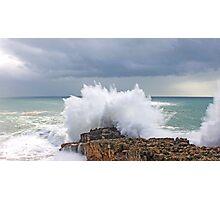 cascais sea Photographic Print