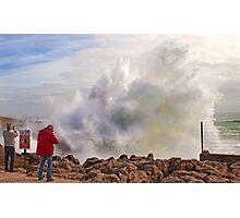 breaking wave Photographic Print