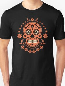 Mexican Day of the Dead Sugar Skull T-Shirt T-Shirt