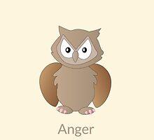 Ody Owl - Anger by JohanPlago