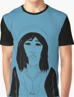 Witch with Zubat Graphic T-Shirt