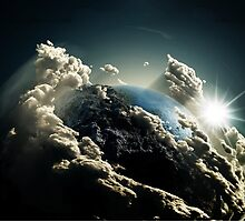 Earth vs Space by NIKOLAOS KOUSATHANAS
