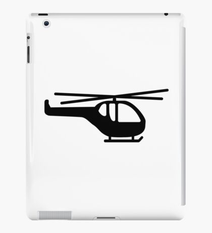 Helicopter pilot aviation iPad Case/Skin