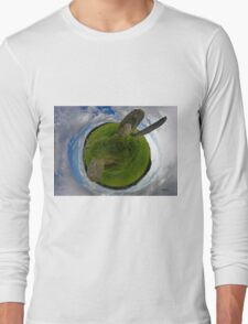 Beltany Stone Circle, Donegal Long Sleeve T-Shirt