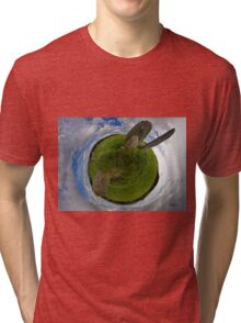 Beltany Stone Circle, Donegal Tri-blend T-Shirt