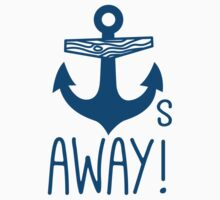 Anchors Away Baby Tee