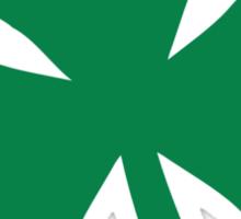 St. Patrick's day shamrock Sticker