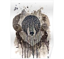 Wolf - ram Poster