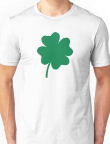 Lucky green shamrock Unisex T-Shirt