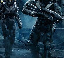 Halo 5 Guardians by NIKOLAOS KOUSATHANAS