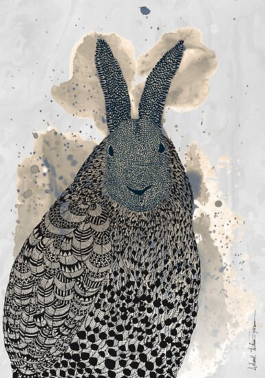 Hare - owl by Milena Taranu