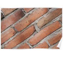Adobe Bricks Mortared Poster