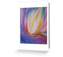Rainbow Flame Greeting Card