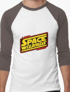 LASER SWORD SPACE WIZARDS Men's Baseball ¾ T-Shirt