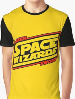 LASER SWORD SPACE WIZARDS Graphic T-Shirt