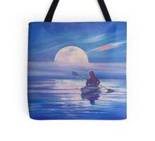 Moon Path Tote Bag