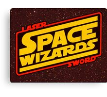 LASER SWORD SPACE WIZARDS Canvas Print