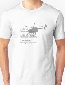 A Mile of Roads Unisex T-Shirt