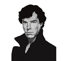 Vector Sherlock Photographic Print