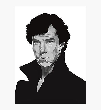Vector Sherlock Photographic Print
