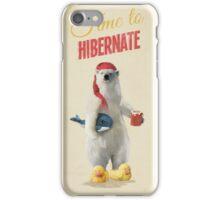 Time to Hibernate iPhone Case/Skin