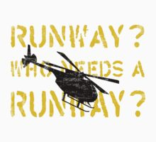 Who Needs a Runway? by rattleship