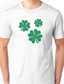 Three irish shamrocks Unisex T-Shirt
